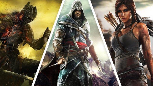 """spieletipps-Leser Sebastian ist sich sicher: Für ein Weltrettungsteam würde er den """"Dark Souls""""-Helden, Ezio Auditore und Lara Croft rekrutieren."""