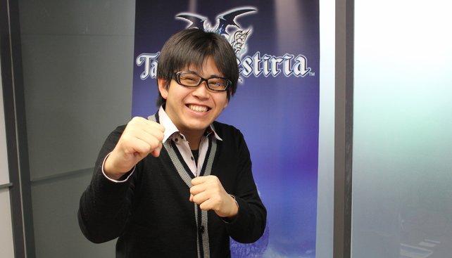 In Kampfposition: Yuta Hase, der sympathische Spieldirektor! von Tales of Zestiria.