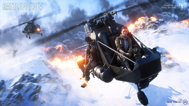 Zwar handelt es sich hier um Promo-Shots von EA, aber das Spiel kann sich auch live durchaus sehen lassen.