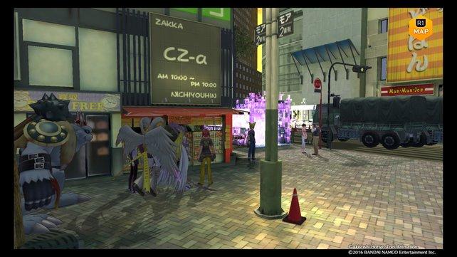 Victory Uchida erwartet euch in Shinjuku.