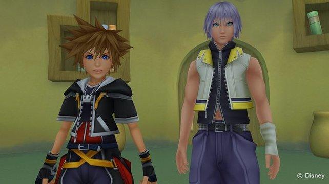 Sora und Riku sind bereit für die Trophäen-Jagd, die sie in Kingdom Hearts 2.8 HD erwartet.