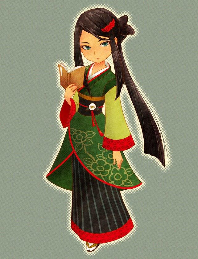 Kasumi ist die letzte Heiratskandidatin bei SoS: Trio of Towns - Besteht ihre Blumenevents und ihr werdet sie erobern.