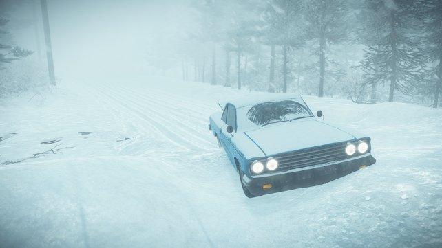 Auch der heftige Blizzard scheint kein normales Naturphänomen zu sein.