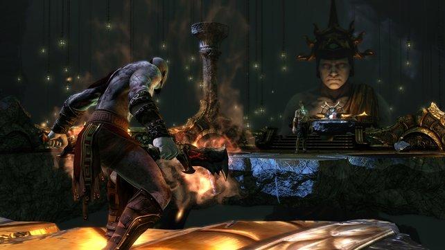 Wollt ihr in die Welt von God of War einsteigen, ist Ascension der beste Ableger dafür.