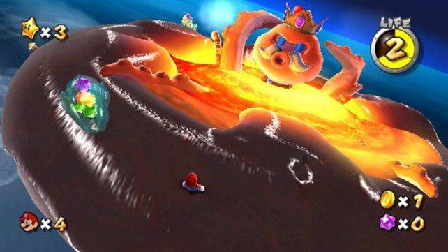 Eines der für Intensivspieler wohl interessantesten Wii-Spiele ist Super Mario Galaxy von 2007. Im internationalen Wertungsdurchschnitt gilt es als das zweitbeste Videospiel aller Zeiten.