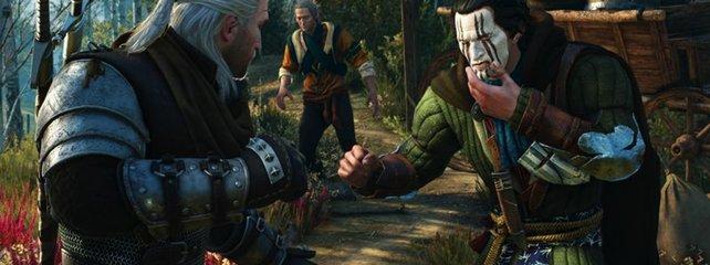 Geralt trägt zwar die Bärenrüstung, Bare Knuckle ist er aber daher noch lange nicht.
