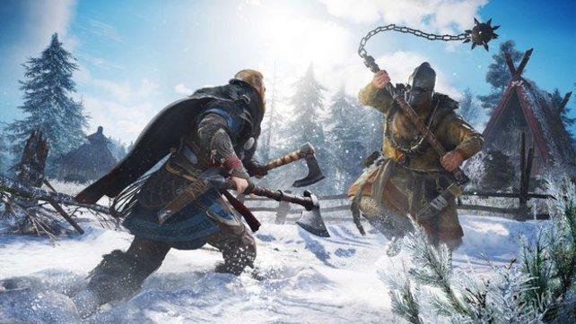In Assassin's Creed: Valhalla wird es ziemlich brutal zugehen