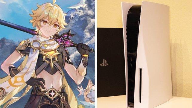 Genshin Impact könnt ihr sowohl auf PlayStation 4 als auch PlayStation 5 genießen.