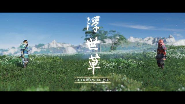 """Besonders in den nervenaufreibenden und toll inszenierten """"Eins gegen Eins""""-Duellen, fühlt sich der Spieler wie ein wahrer Samurai."""