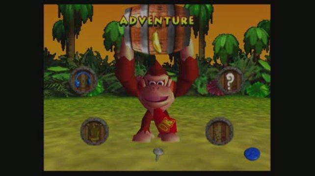 Nach drei Donkey Kong Countrys auf dem SNES ist Donkey Kong 64 das vierte große Primatenabenteuer.