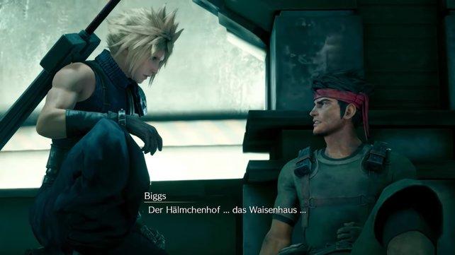 Biggs hat bis zum Schluss tapfer gegen Shinra gekämpft, doch es scheint, dass Cloud zu spät gekommen ist.