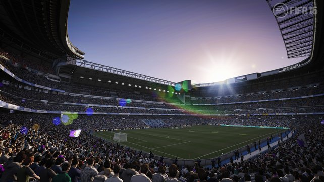 Umwerfend: Die Optik und die Atmosphäre sind in Fifa 16 schlichtweg beeindruckend authentisch.