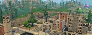 Fortnite: Tilted Towers mit nur einem Schuss zerstört