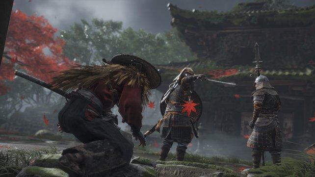 Samurai Jin kann in Ghost of Tsushima auf kuriose Weise fliegen.