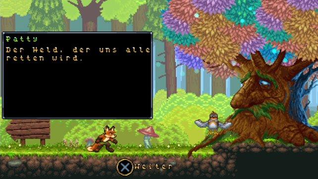 Die Handlung und ihre Präsentation sind in Fox n Forests schlicht gehalten.