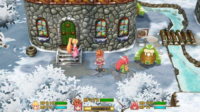 Beim Remake von Secret of Mana wird auf klassische Pixelgrafik verzichtet.
