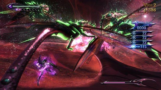 In der Hölle warten auf Bayonetta einige Dämonen.