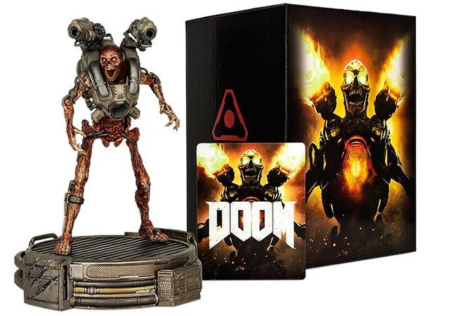 Der Wiedergänger der Collectors Edition ist 30 cm groß. Die Box ist ebenfalls sehr schick.