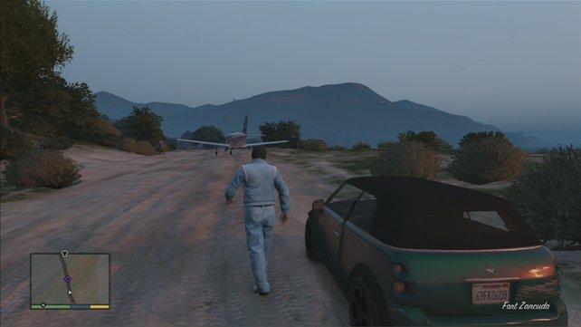 Diese Mission besteht nur aus einem kleinen Flug.