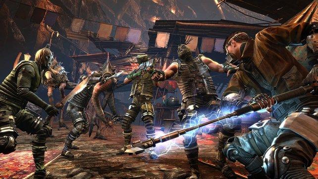 Tötet Gegner mit unterschiedlichen Waffen, um alle Trophäen und Erfolge freizuschalten.