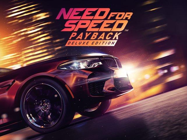 Das Cover der Need for Speed - Payback Deluxe Edition zeigt womöglich den neuen BMW M5.