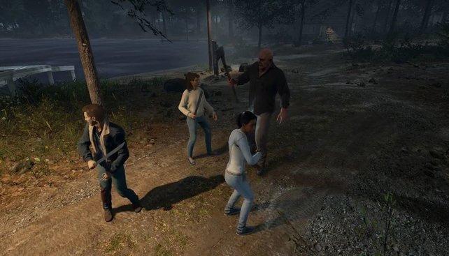 Kehrt als Tommy Jarvis (hier links im Bild) zurück und sammelt auch nach dem ersten Tod fleißig XP.