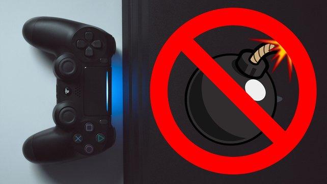 Das neue PS4-Update löst endlich das Batterie-Problem der Konsole. (Bild: Unsplash  Fabian Albert / Pixabay – Clker-Free-Vector-Images; OpenClipart-Vectors)