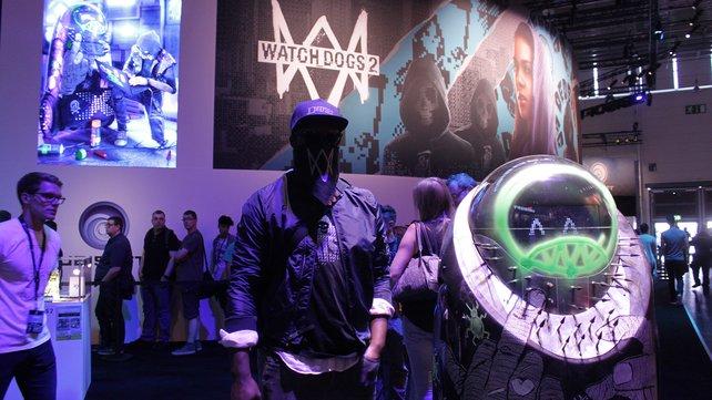 Ubisoft zeigt kommende Hits, darunter auch Watch Dogs 2.