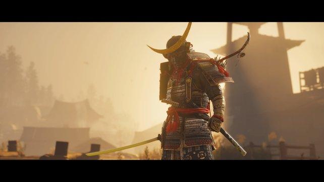 Die Darstellung der Samurai ist für das 13. Jahrhundert leider nicht ganz akkurat.