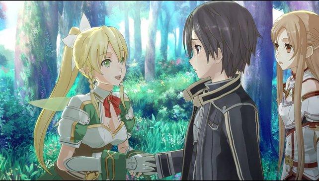 Kirito ist der Held des Spiels und bei den Frauen äußerst beliebt.