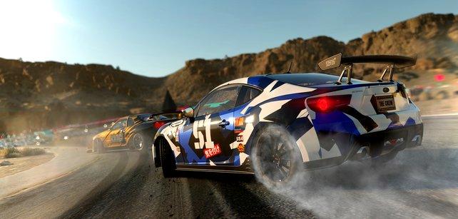 Der neue Subaru BRZ eignet sich besonders für Drift-Events.