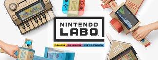 Vorschauen: Nintendo Labo: Voller Erfolg oder Bauchklatscher mit Ansage?