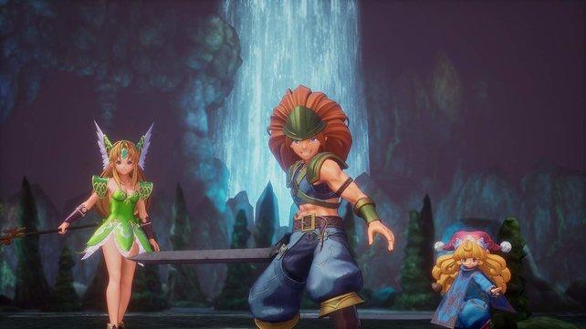 Drei Gefährten, aber kein Koop oder Multiplayer? Traurige Wahrheit in Trials of Mana!