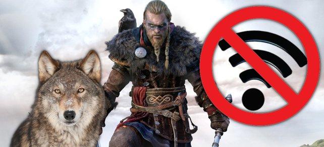 In Assassin's Creed: Valhalla gibt es neue Skills - wenn ihr offline geht. Bildquellen: Getty Images / designer29, hkuchera