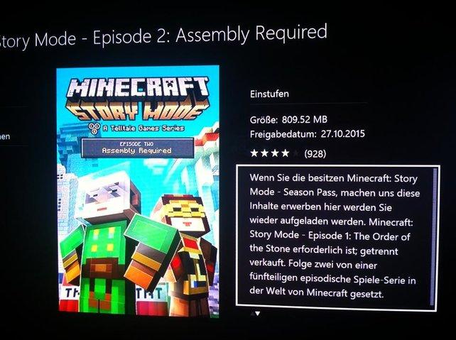 Xbox Live Yoda Schreibt Offenbar Die Beschreibungstexte Bei Minecraft - Minecraft zu 2 spielen xbox