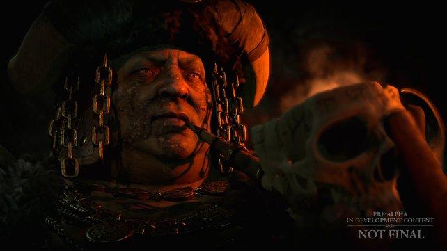 In Diablo 4 wird die Geschichte auch mithilfe von schicken Zwischensequenzen erzählt.