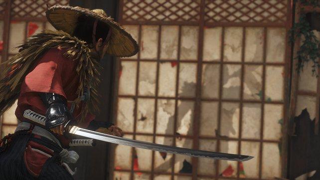 Ghost of Tsushima kann mit einem Katana-Controller gespielt werden.