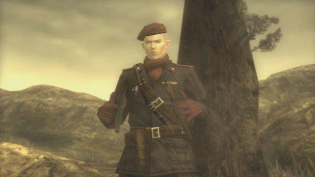 Revolver Ocelot aus Metal Gear Solid 3.