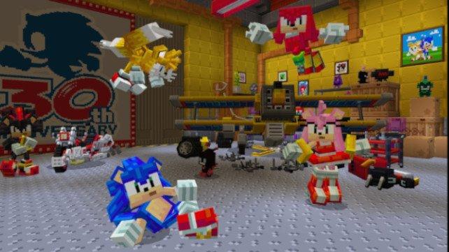 Minecraft: Sonic-DLC sieht großartig aus.