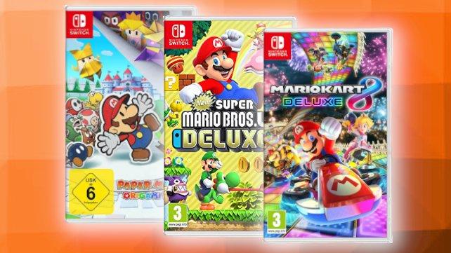 Bei MediaMarkt gibt es aktuell Switch-Spiele im Angebot.