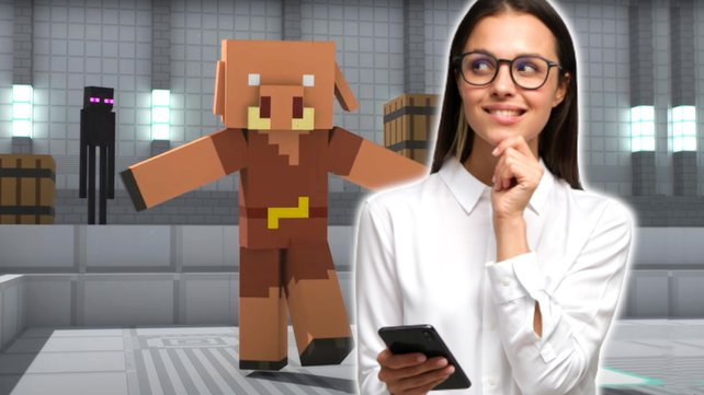 Minecraft-Spieler dürfen bei zukünftigen Inhalten direkt mitbestimmen. Bild: Mojang Studios, Getty Images/Damir Khabirov.