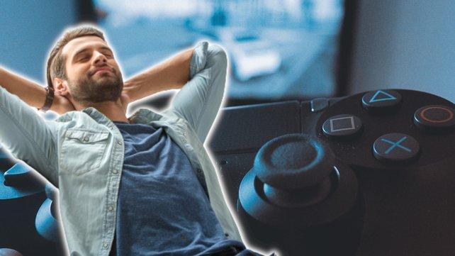 Beim Zocken ganz entspannt zurücklehnen? Sony hat da eine Idee. (Bildquelle: Getty Images/dima_sidelnikov.)