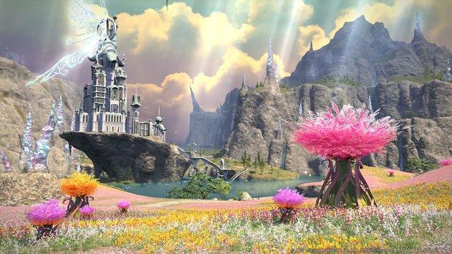 """""""Der ständig wachsende Umfang rechtfertigt das Bezahlmodell."""" - Square Enix hält daran fest."""