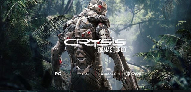Crysis Remastered wurde nun auch offiziel angekündigt. Quelle: Crytek
