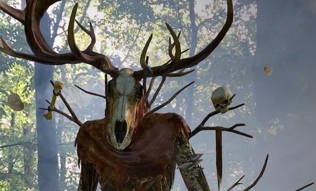 Der Waldschrat zeigt sich aus gutem Grund als Gesicht von The Witcher: Monster Slayer. (Quelle: Spokko Games)