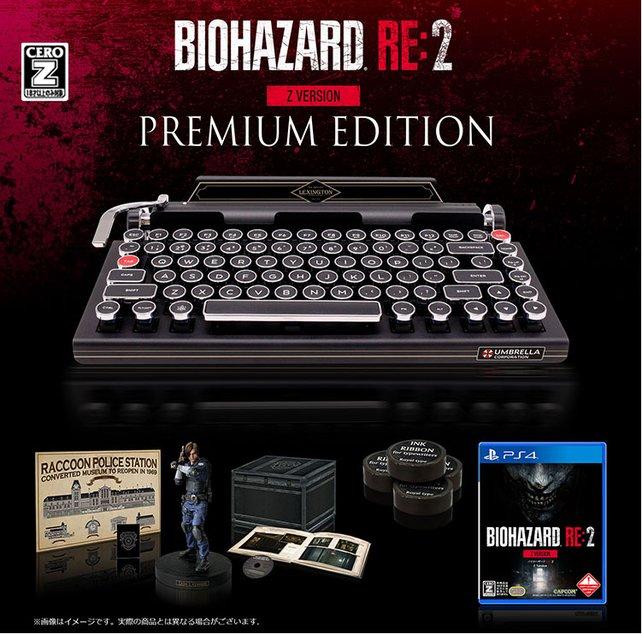 So sieht die Premium Edition aus. Ähnlich wie die normale Collectors Edition