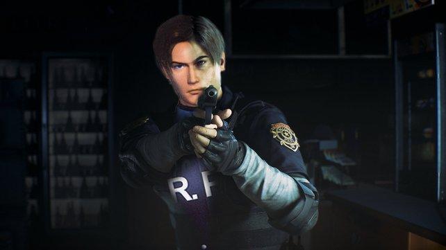 Ihr findet, Leon sieht hier seltsam aus? Das passiert, wenn man Original und Remake vermischt.