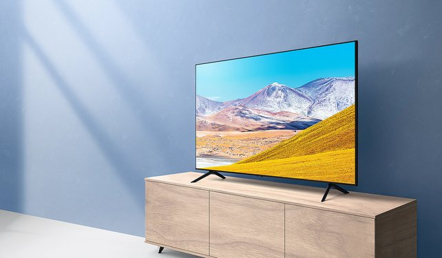 Angebot bei MediaMarkt Samsung GU75TU8079 LED TV (Bildquelle: Samsung.com)