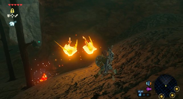 Haltet stets Abstand vor brennenden Flederbeißern.