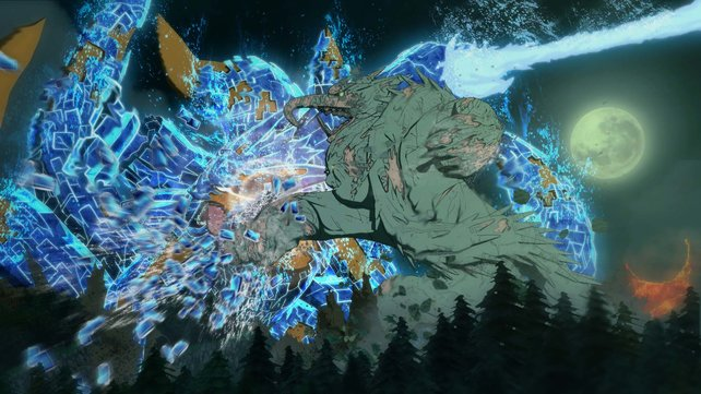 Der Kampf zwischen Madara und Hashirama könnte spektakulärer kaum ausfallen.